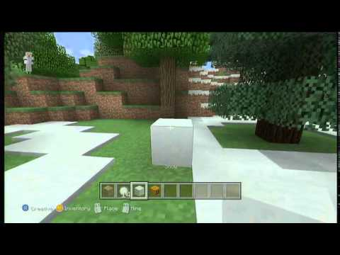 How To Get Infinite Snowballs on Minecraft Xbox 360