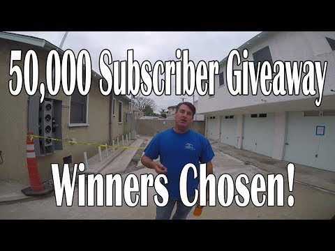 50,000 Sub Giveaway, Winners Chosen!