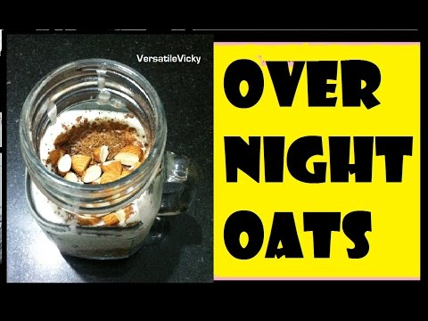 Overnight Oats | Lose 2 KGS in 1 Week