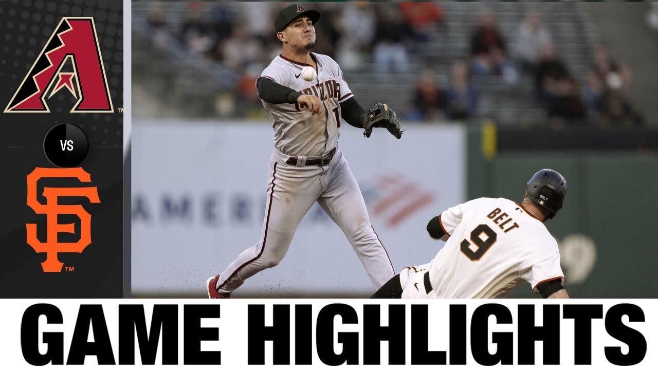 D-backs vs. Giants Game Highlights (6/15/21)   MLB Highlights