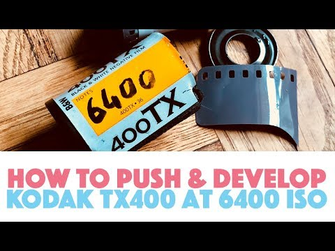 Developing Kodak Tri-X 400 Pushed to 6400