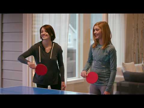 Lifestyle Video  |  Harvil Outsider Table Tennis Table | Dazadi.com