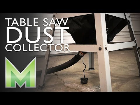How to Install a Table Saw Dust Collector - Milescraft Dust Cutter II Review