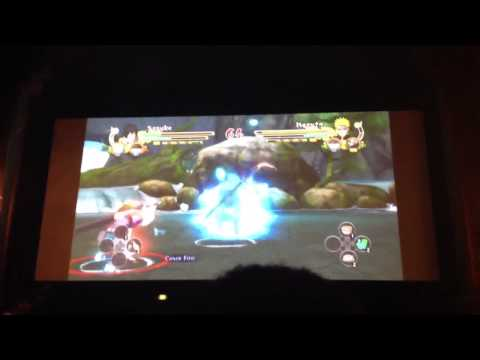 Ultimate ninja storm 3 ems Sasuke vs km Naruto