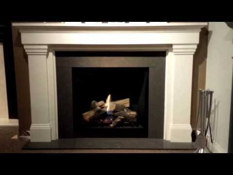 Majestic MLDV500 Onyx Direct vent gas fireplace