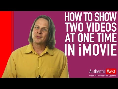How to Show Two Videos at One Time in iMovie 2017
