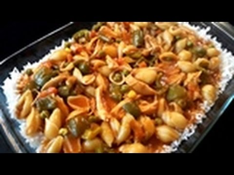 Salsa Pasta With Rice in Urdu/Hindi by Azra Salim