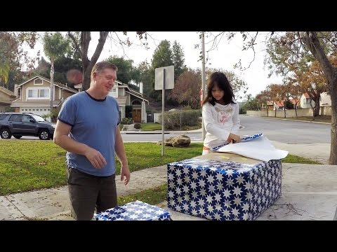 Wife & Daughter surprise Husband with DJI Inspire 1