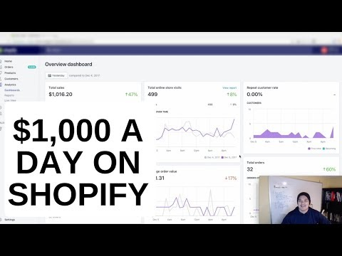 $1,000 day on Shopify update