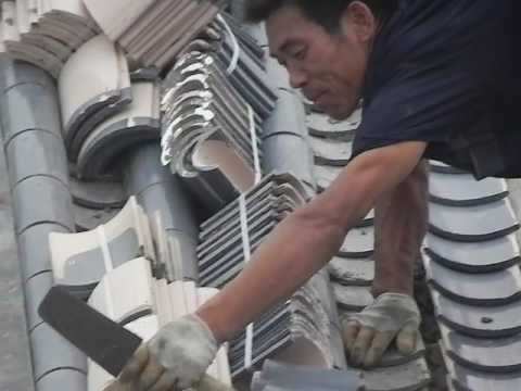 Chinese roof tiles installation instruction