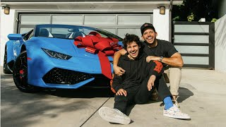 BEST FRIEND SURPRISED ME WITH LAMBORGHINI!!