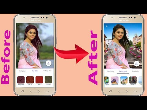 Change Photo Background App How to Change Photo background on Android Phone