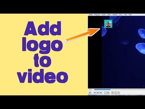 How to add logo in video
