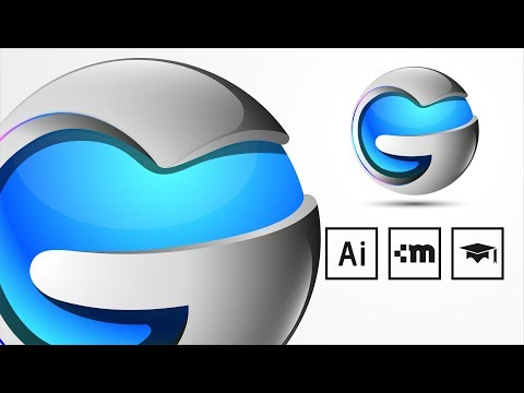 3D Logo Design Master Class - Adobe Illustrator CC Tutorial