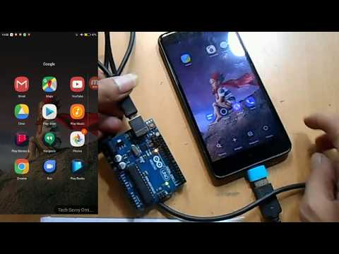 Program Arduino Uno With Android