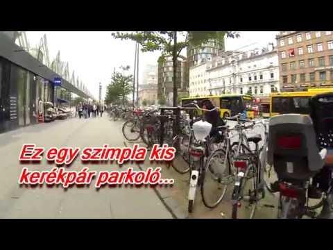 A koppenhágai kerékpárosok nem semmik! Ők így tolják!