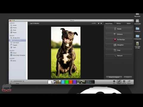 One Click Photo Enhance With iPhoto On Mac
