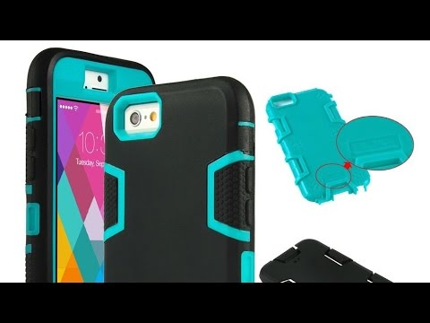 #iPhone6 Hybrid Shockproof Protective Case