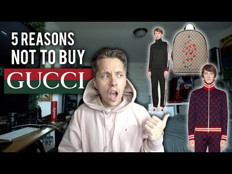 Top 5 Reasons Why You Should NOT Buy GUCCI