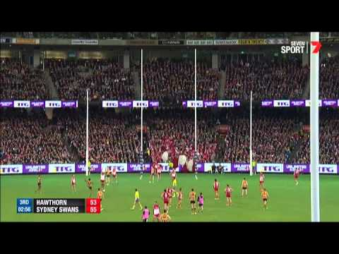 Round 8 AFL - Hawthorn v Sydney Swans highlights