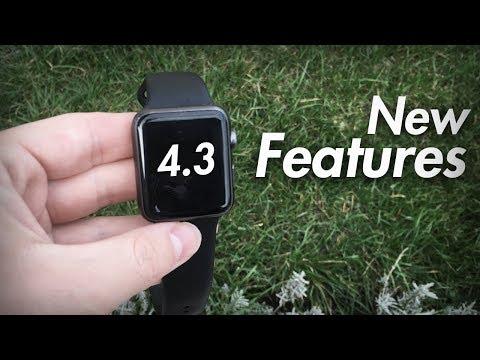 WatchOS 4.3 - Best New Features