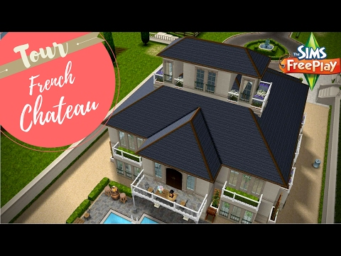 French Chateau | Tour | Sims FreePlay