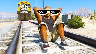 GTA 5 FUNNY/CRAZY MOMENTS #23 - GTA 5 Funny Fails