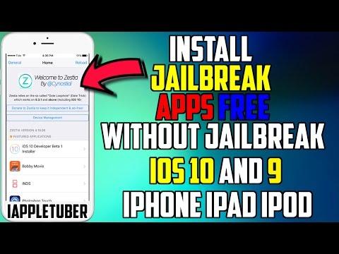 Install Jailbreak Apps FREE Without Jailbreak iOS 10 & iOS 9 - 9.2.1 - 9.3.3