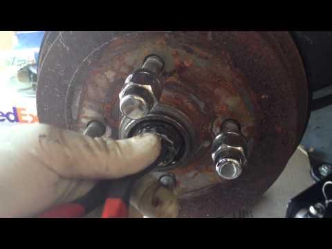 Volkswagen Rear Brake Drum Issues