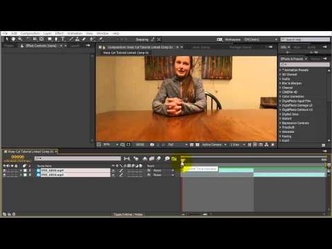 After Effects Warp Cuts