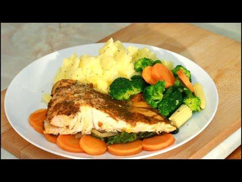Bake Salmon & Mashed Potato | Recipes By Chef Ricardo