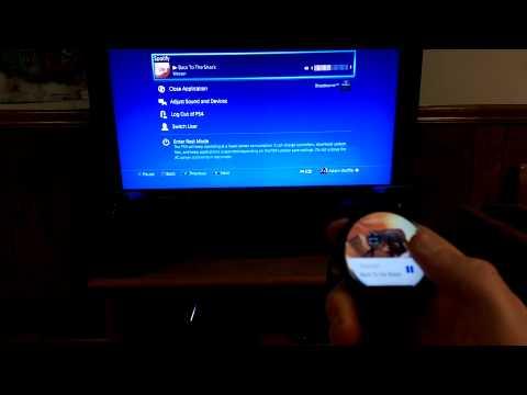 Controlling Spotify on PS4 via Moto360
