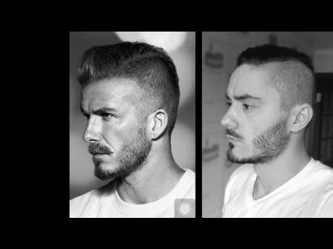 Movie Star Beards  | David Beckham beard - Tutorial How to Trim