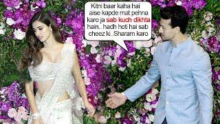 Download Tiger Shroff FIGHTS With Girlfriend Disha Patani Again At Ambani's WEDDING Ceremony Reception Video