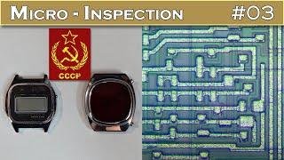 Micro INSPECTION 03 : Montres numériques à quartz Soviétiques