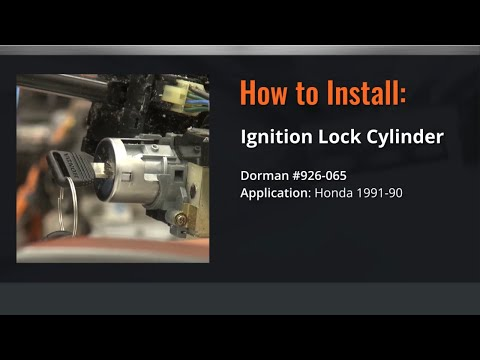 Honda Ignition Lock Cylinder Repair Video by Dorman Products