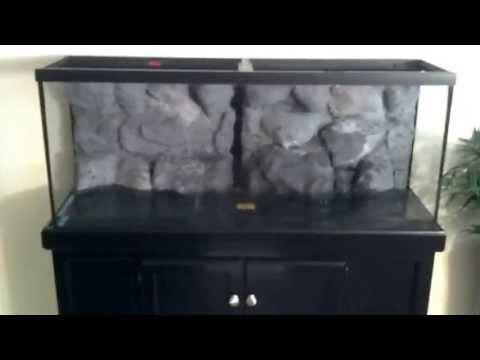 D.I.Y. 3D Rock Wall Aquarium Background Part 3