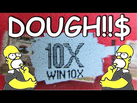 WINNERS!! 10X PLUS MONEY BAGS!! LOTTERY TICKET SCRATCH OFF PROFIT SESSION!!