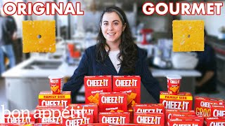 Pastry Chef Attempts to Make Gourmet Cheez-Its | Gourmet Makes | Bon Appétit