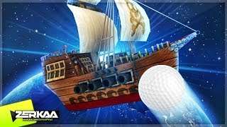 PIRATE SHIPS IN SPACE?! (Golf with Your Friends)
