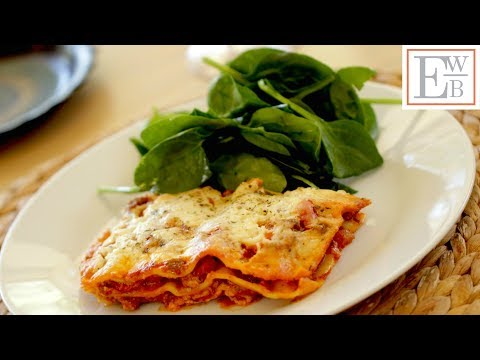 Beth's Homemade Lasagna Recipe | ENTERTAINING WITH BETH