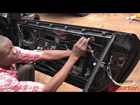 BMW DOOR Part-3 | 👨🏽🔧Removing BMW Door Panel, Replacing Window Regulator and Door Glass Window 🚗💨💨💨