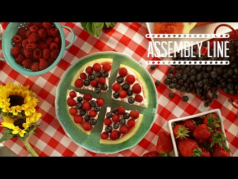 Watermelon Dessert Pizza | Assembly Line