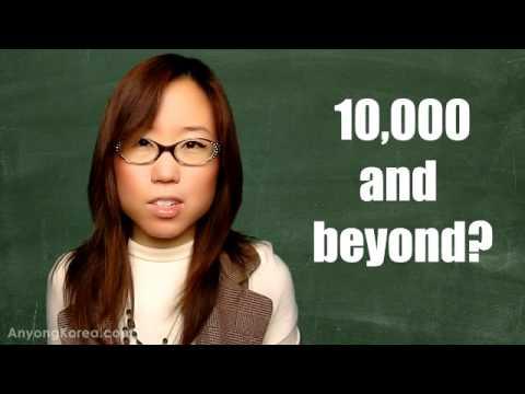 Learn Korean 5: KOREAN NUMBERS (Native & Sino-Korean Systems)
