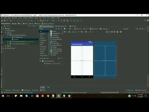 Toast, Button Declaration and Implementation | Android Kotlin Tutorial