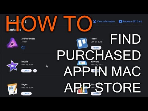 How to Find All Your Purchased App in Mac App Store Mojave