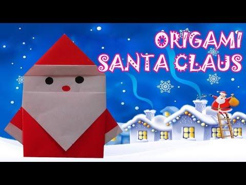 Origami Santa Claus - Origami Easy