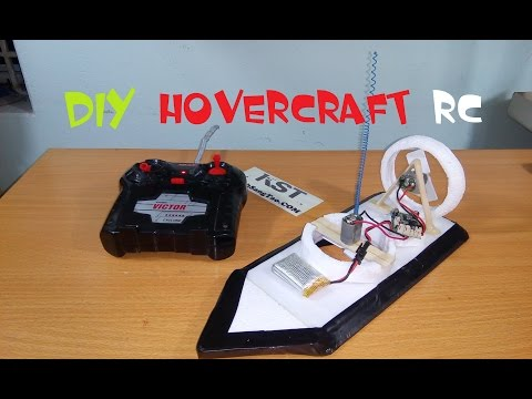 [Tutorial] DIY hovercraft remote control2