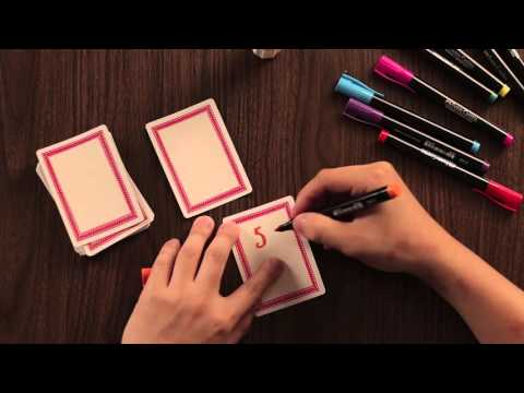 How to DIY: Love Notes for Valentine's Day with Faber-Castell Slim Permanent Markers.