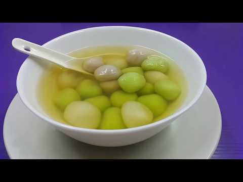 Glutinous Rice Balls with Palm Sugar filling (Tangyuan) ● Homemade Recipe [Simple & Easy]